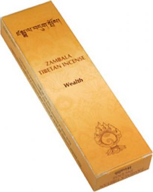 Gangchen | Tibetan Incense | Zambala |  Wealth | 20 Sticks | Made in Nepal